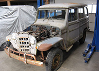 1953 Willys Station Wagon 4x4